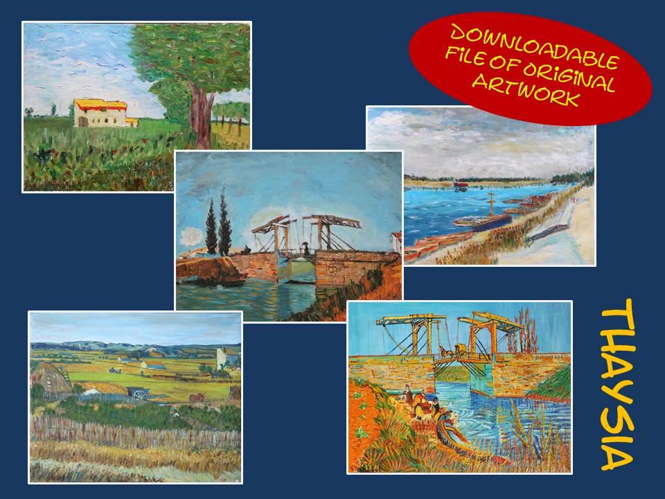 Serie Vincent van Gogh